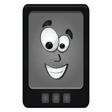 10320216-cartoon-illustration-showing-a-generic-smartphone-with-a-smiling-face
