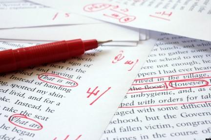 Editing an English language document