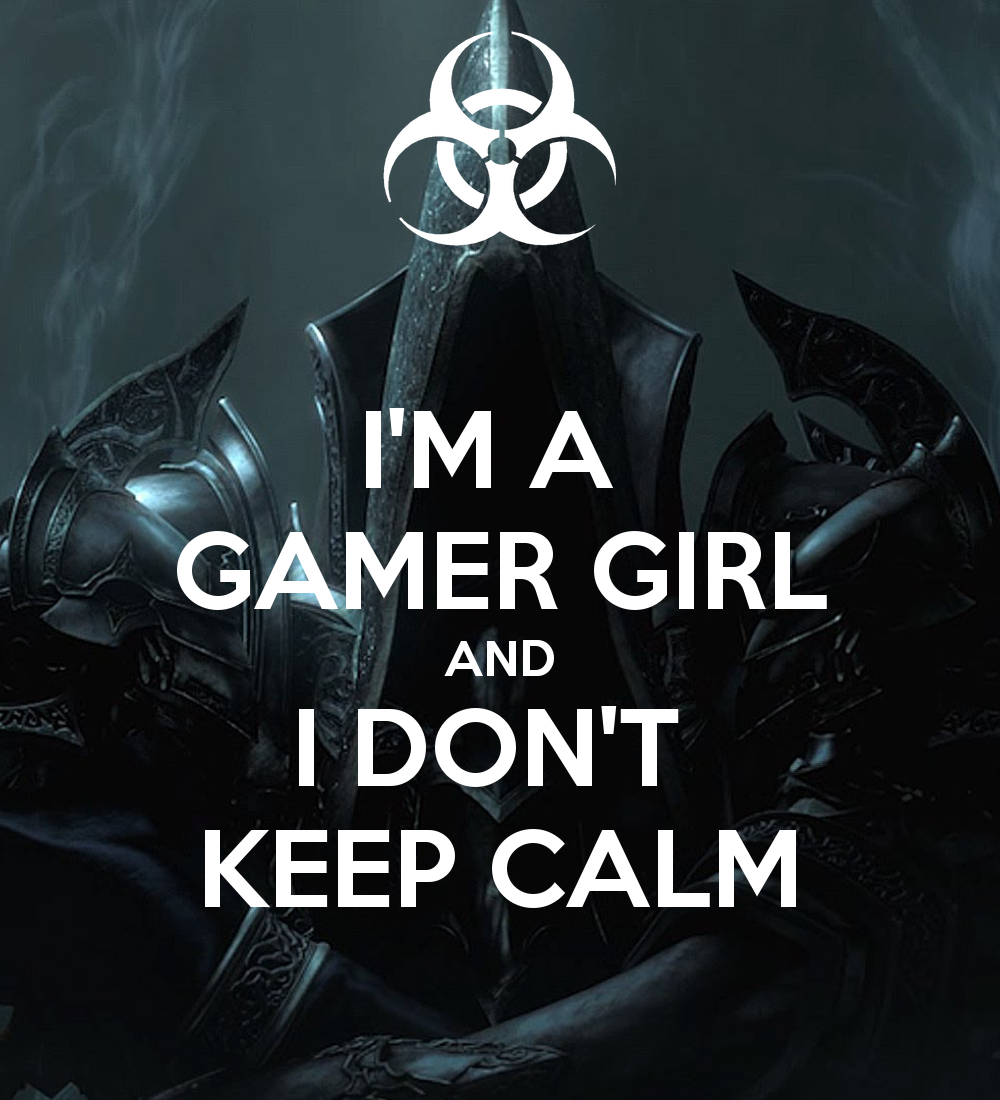 im a girl gamer