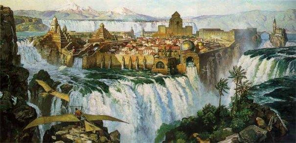 waterfall-city