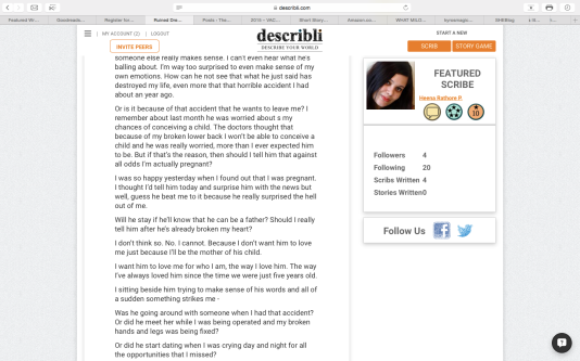 Screenshot of Describli website
