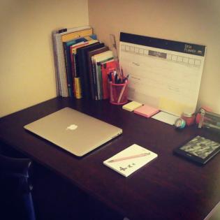 My study table