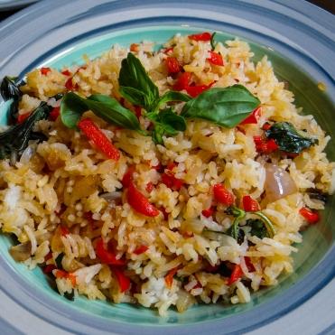 Thai Basil Fried Rice