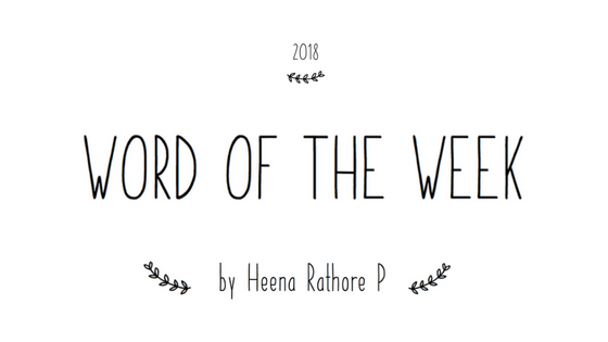 Word Of The Week #45