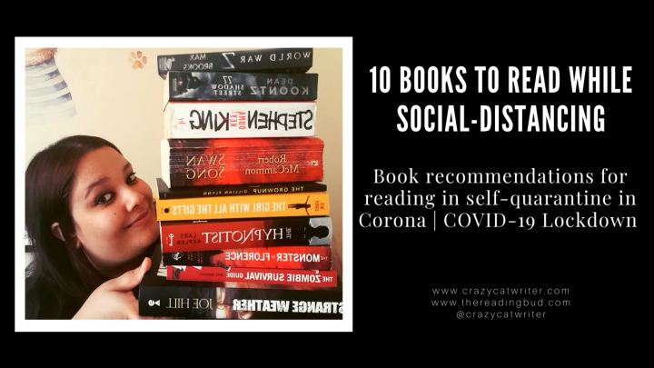 10 Books To Read While Social-Distancing During Corona Virus OrCOVID-19