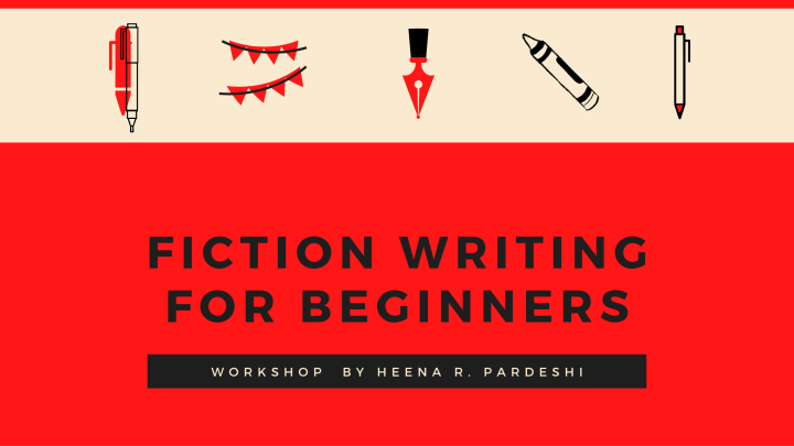 Registration For Fiction Writing For Beginners Workshop