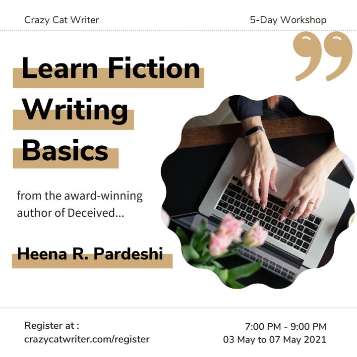 Fiction Writing Basics – 5-Day OnlineWorkshop